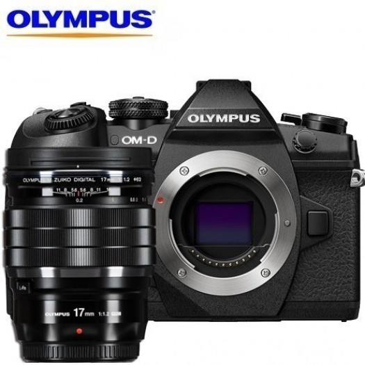 Olympus OM-D E-M1 Mark II + 17mm f/1.2 PRO Kit