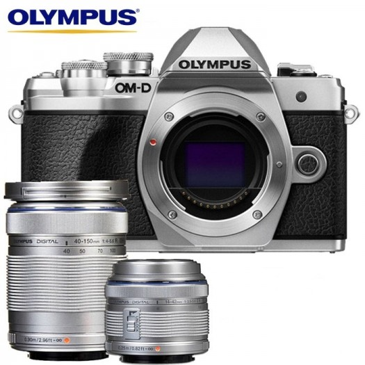 Olympus OM-D E-M10 Mark III 14-42mm II R + 40-150mm Kit