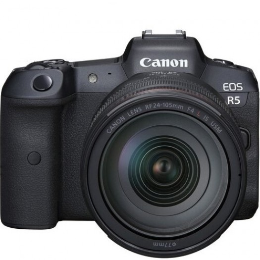 Canon EOS R5 24-105mm f4L IS USM Kit