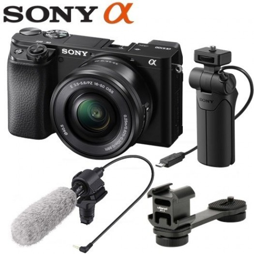 Sony A6100 Vlogging Kit
