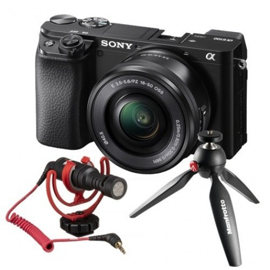 Sony A6100 16-50mm Vlogger Kit