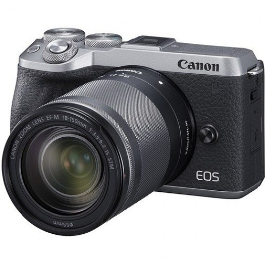 Canon EOS M6 Mark II 18-150mm Kit (Silver)