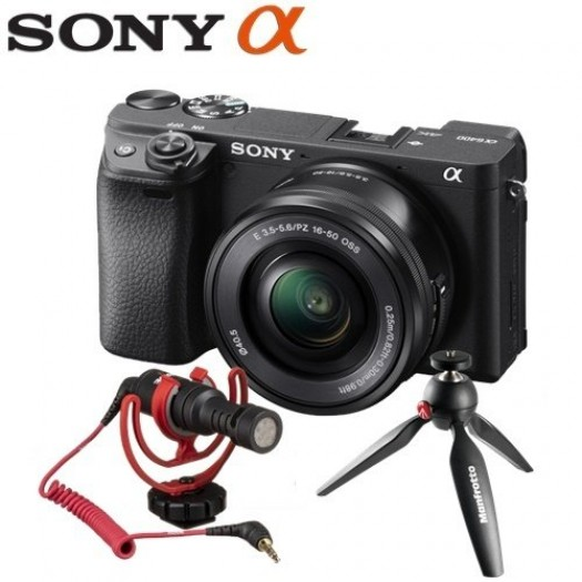 Sony A6400 16-50mm Vlogging Kit