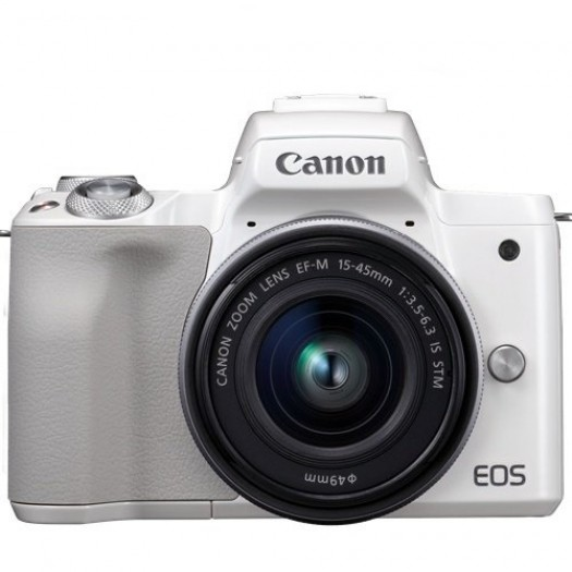 Canon EOS M50 15-45mm IS STM Kit (Silver)