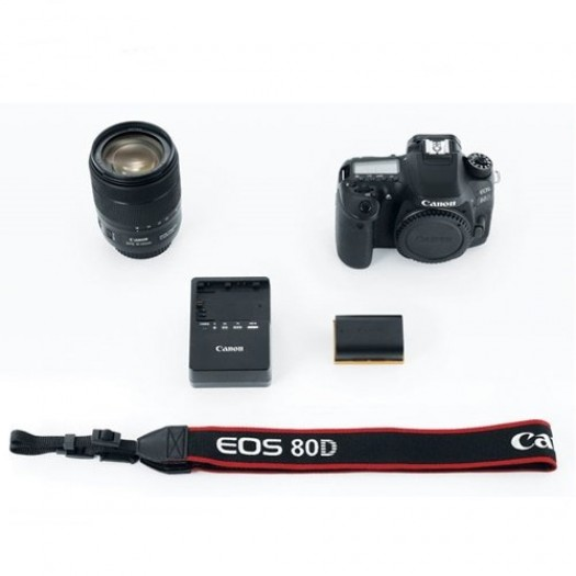 Canon EOS 80D 18-135mm Nano IS USM Kit