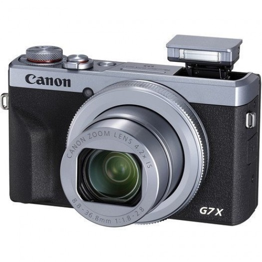 Canon PowerShot G7 X Mark III Vlog Set (Silver)
