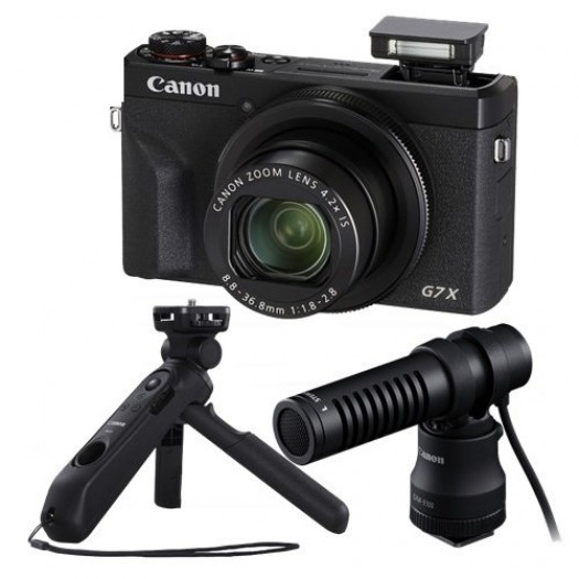 Canon PowerShot G7 X Mark III Vlogger Kit