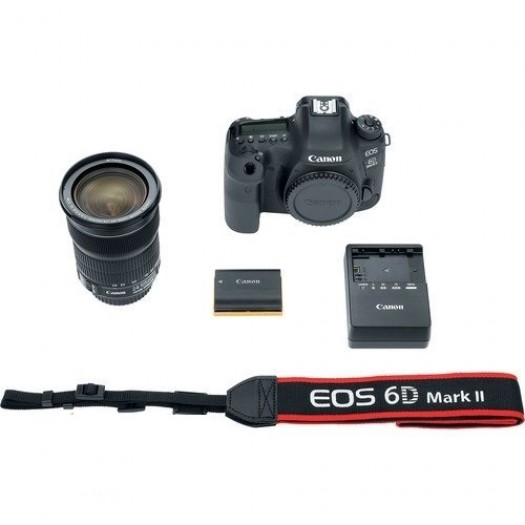 Canon EOS 6D Mark II 24-105mm IS STM Kit