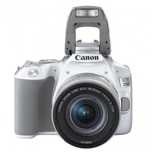 Canon EOS 250D 18-55mm IS STM (Beyaz)