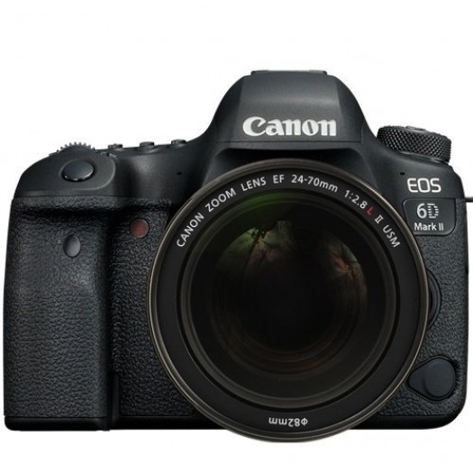 Canon EOS 6D Mark II + 24-70mm f/2.8L II USM Kit