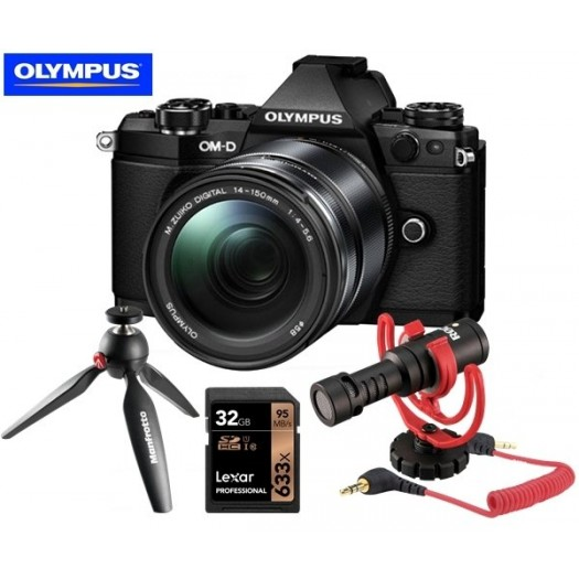 Olympus OM-D E-M5 Mark II 14-150mm Vlogger Kit