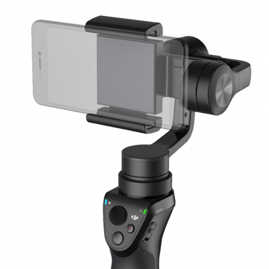 DJI Osmo Mobile + Extension Rod + Tripod