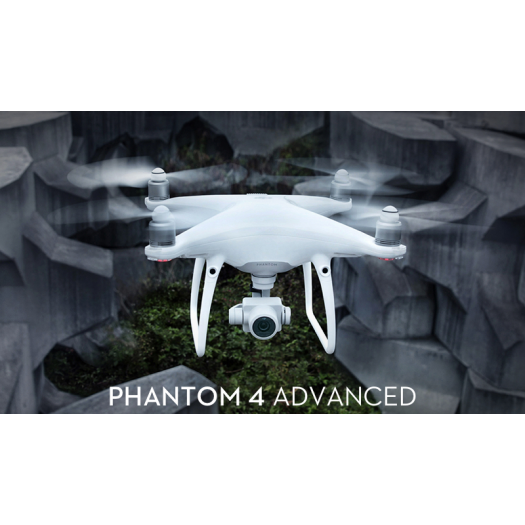 DJI Phantom 4 Advanced Drone (Çanta ve Gölgelikli Set)