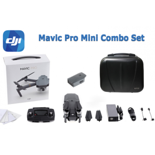 DJI Mavic Pro Fly Mini Combo Set