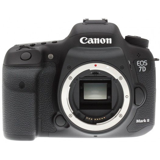 Canon Eos 7D Mark II + 18-55mm Lens  + 55-250mm Lens