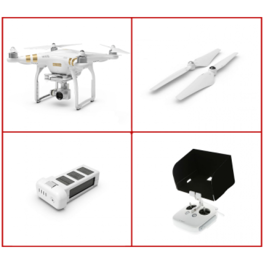 Dji Phantom 3 SE 4K Combo Set