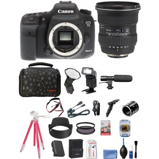 Canon Eos 7D Mark II + Tokina 11-16mm AT-X PRO Lens