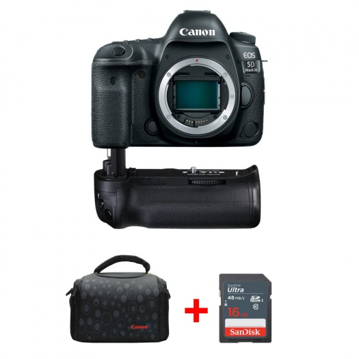 Canon EOS 5D Mark IV + Battery Grip